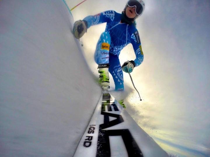 Cosa vedono gli sci di Julia Mancuso